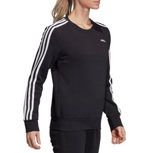 Adidas Essentials 3-Stripe Sweatshirt
